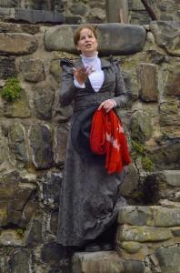 Jana Edwards in Clovelly