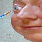John Humphreys, self sculpture